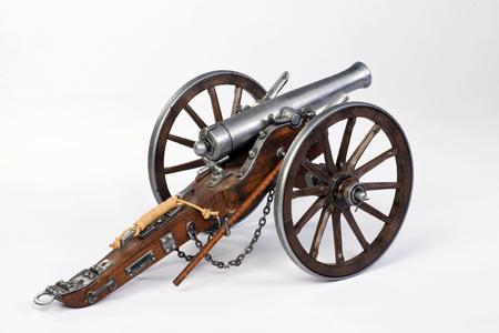 Modell eines 1863 Dahlgren Kanone.