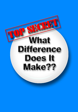 What difference dose it make with top secret sign.