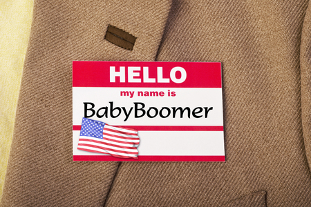 baby boomer: My name is Baby Boomer.