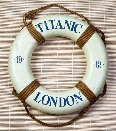 1912 년 런던에서의 타이타닉 생명의 은인.