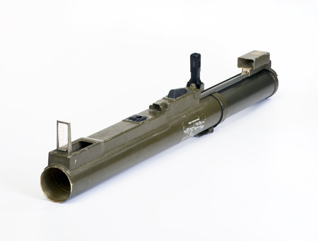 self contained: Rocket propelled antiarmor weapon made in the 1960-80s Stock Photo