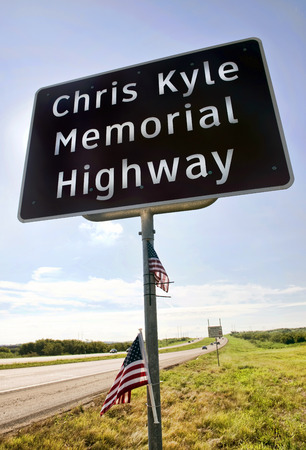 kyle: Midlothian, Texas - Aug.28,2016  Chris Kyle Memorial Hwy part of Hwy 287 in Midlothian ,Texas  opened in 2016. Chris Kyle was the American Sniper reported to be the deadliest sniper in history.