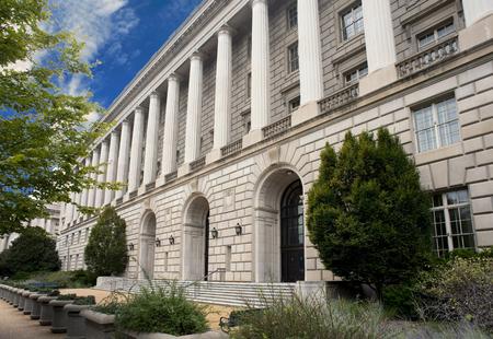 워싱턴 DC에있는 국세청 건물.
