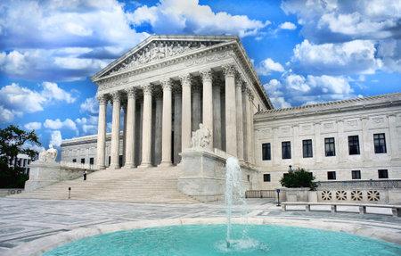 Washington Supreme Court building in Washington DC.
