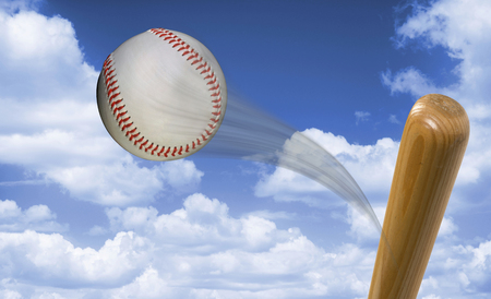 hurl: Home run baseball fast hit to the heavens with room for your type.