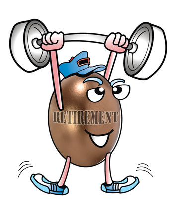 Retirement time is fun with lots to do.