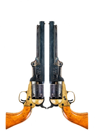 peacemaker: Old west cowboy pistols with room for your type.