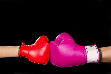 Pink girl power boxing your way up with room for your type.