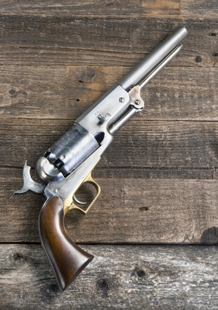 peacemaker: 1847 cowboy pistol with room for your type.