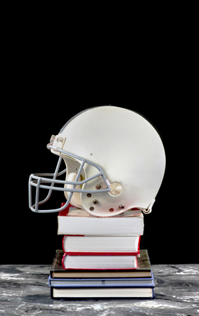 Football and books with room for your type.