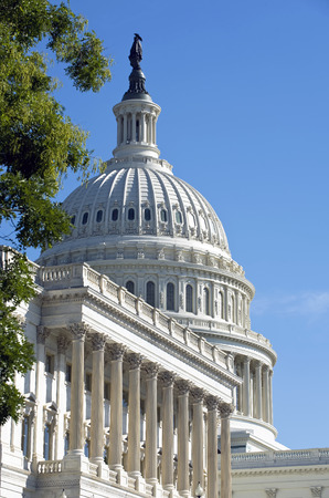 American Capital Building in Washington DC . Stock Photo
