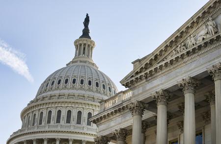American Capital Building in Washington DC . 写真素材