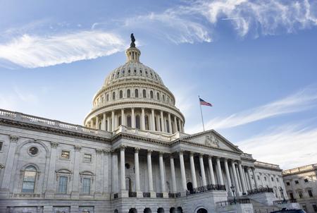 Amerikanisches Hauptgebäude im Washington DC.