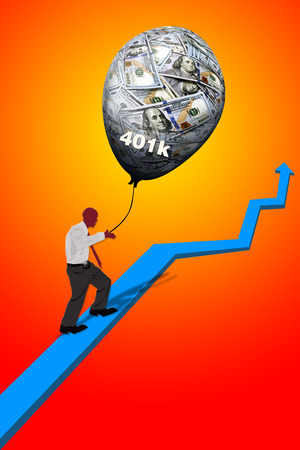 Growing your 401K retirement to the top.