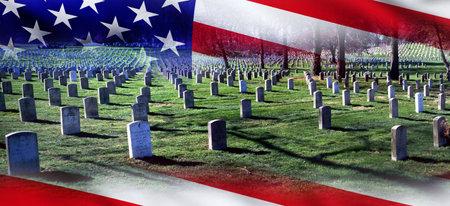 8月9日,美国弗吉尼亚州阿灵顿国家公墓,美国英雄们在这里安息。