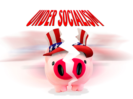 Broken under socialism is our future in America.