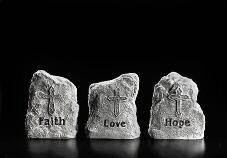 Faith,Love and Hope with room for your type.