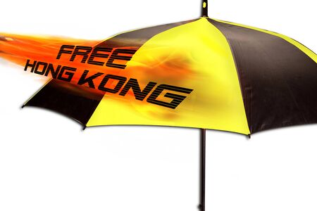 Free Hong Kong pro-independence Umbrella Movement.