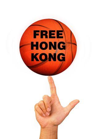 Free Hong Kong Basketball Movement.