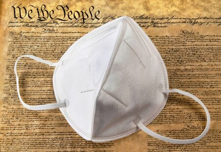 We the people N95 face mask.