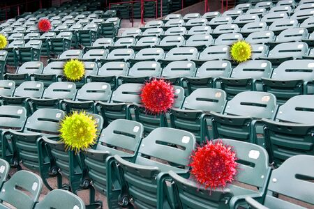 Sports events closed for now because of the COVID 19 Virus.