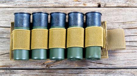 12 gauge shotgun shells with tactical shell holder .