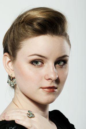 Portrait of a beautiful girl Stock Photo - 5234809