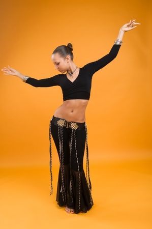 Belly dancer photo