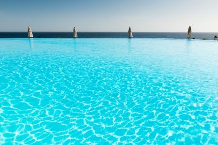 Infinity pool photo