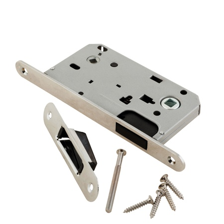 Door lock assembly on White Background photo