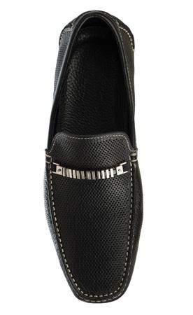 Fashion mens shoe on white photo