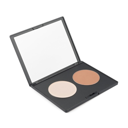 Make-up palette isolated photo