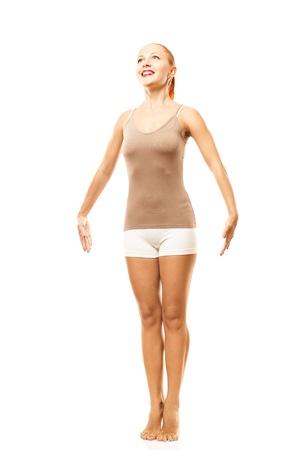 on tiptoes: Standing on tiptoes