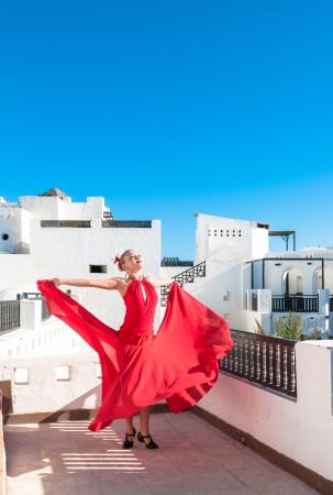 danseuse flamenco: Le danseur de flamenco Banque d'images