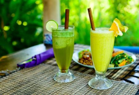 organic drinks: Organic drinks Stock Photo