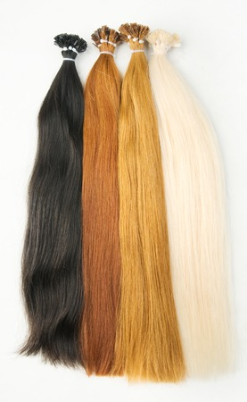 Extensions colors isolated on a white background
