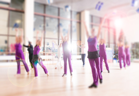 comely: Dance class for women at fitness centre
