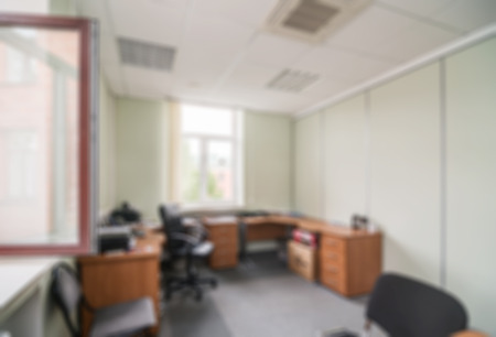 office cabinet: Common generic office building interior blur background