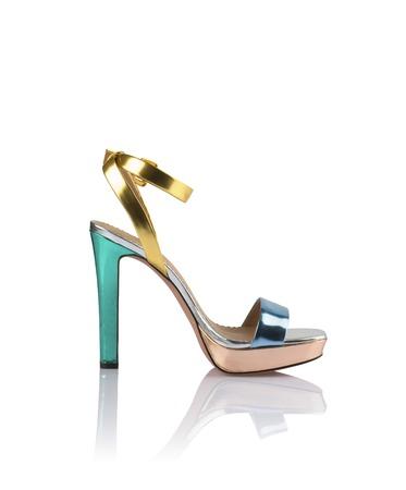 dressy: Modern fashionable women shoe shot in studio Stock Photo