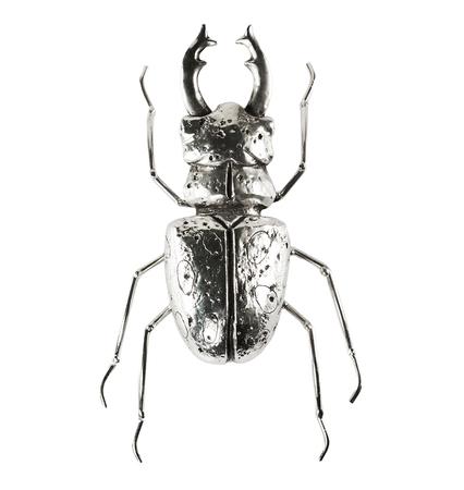 arredamento classico: Figura di insetto d'argento