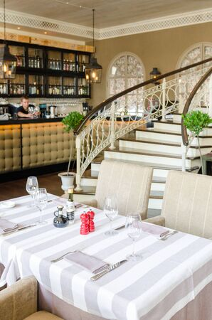 Restaurant interior shot