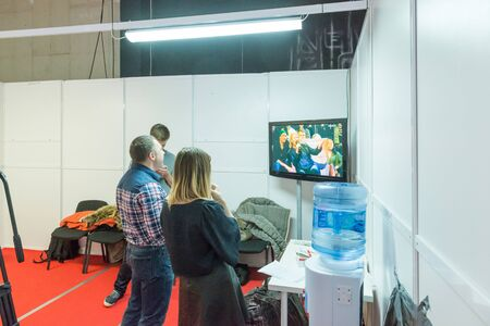 TV show filming backstage 版權商用圖片 - 137508029
