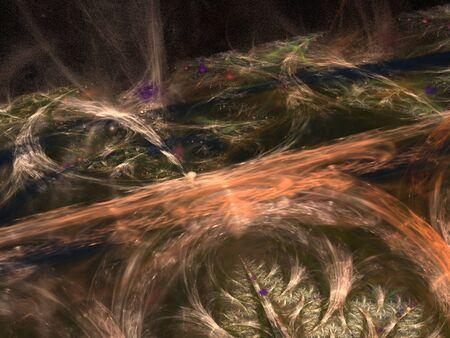 Imaginatory fractal background Image