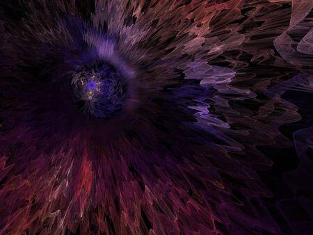 Imaginatory fractal background Image Stok Fotoğraf - 131364585
