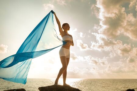 Freedom and Beauty concept Imagens