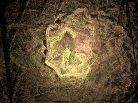 Imaginatory fractal background Image Foto de archivo