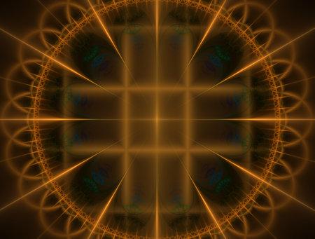 Imaginatory fractal background generated Image 版權商用圖片