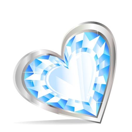heart diamond: Diamond heart