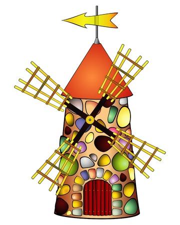 wind vane: Old windmill
