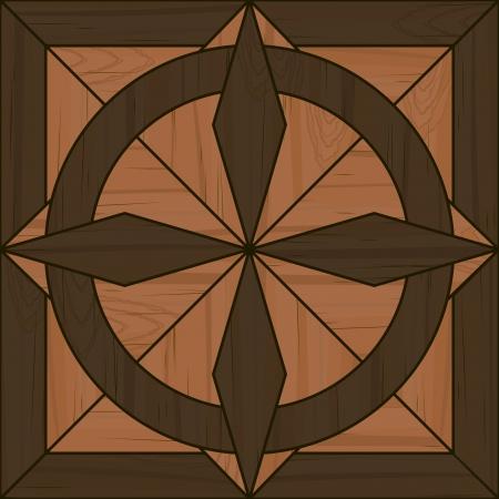 tile flooring: Fancy wooden parquet tile for seamless pattern